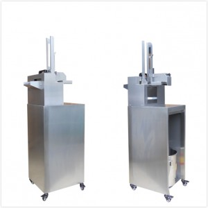 Automatic Tablet Deblistering Machine ETC-120AL with a movable holder