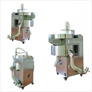 Capsule Polisher together with polishing,sorting and lifting function